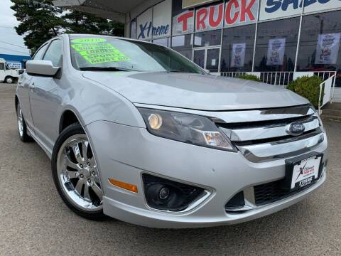 2010 Ford Fusion for sale at Xtreme Truck Sales in Woodburn OR