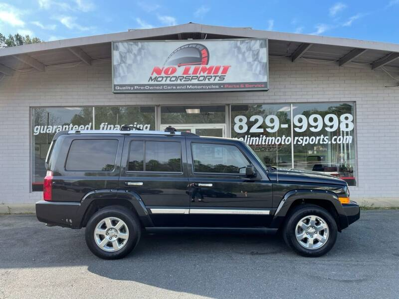 2008 Jeep Commander for sale at NO LIMIT MOTORSPORTS in Belmont NC