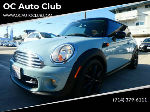 2013 MINI Hardtop for sale at OC Auto Club in Midway City CA