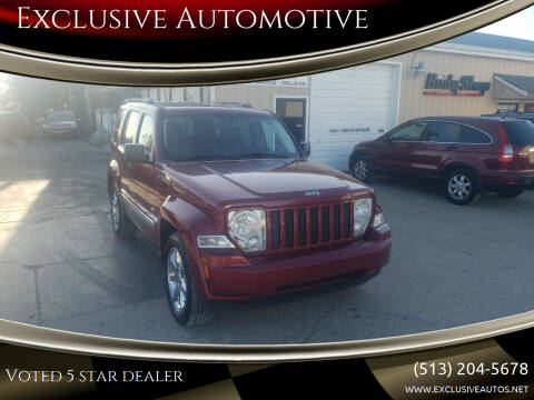 2012 Jeep Liberty for sale at Exclusive Automotive in West Chester OH