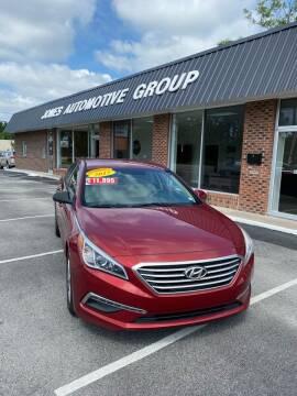 2015 Hyundai Sonata for sale at Jones Automotive Group in Jacksonville NC
