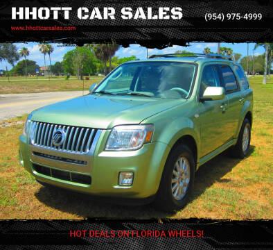 2009 Mercury Mariner for sale at HHOTT CAR SALES in Deerfield Beach FL