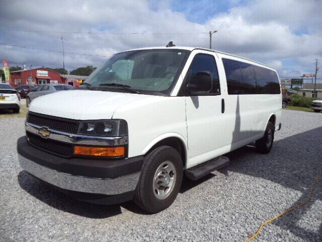 2019 Chevrolet Express Passenger for sale at PICAYUNE AUTO SALES in Picayune MS