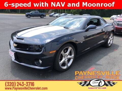 2013 Chevrolet Camaro for sale at Paynesville Chevrolet Buick in Paynesville MN