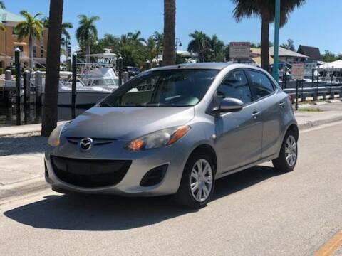2012 Mazda MAZDA2 for sale at L G AUTO SALES in Boynton Beach FL