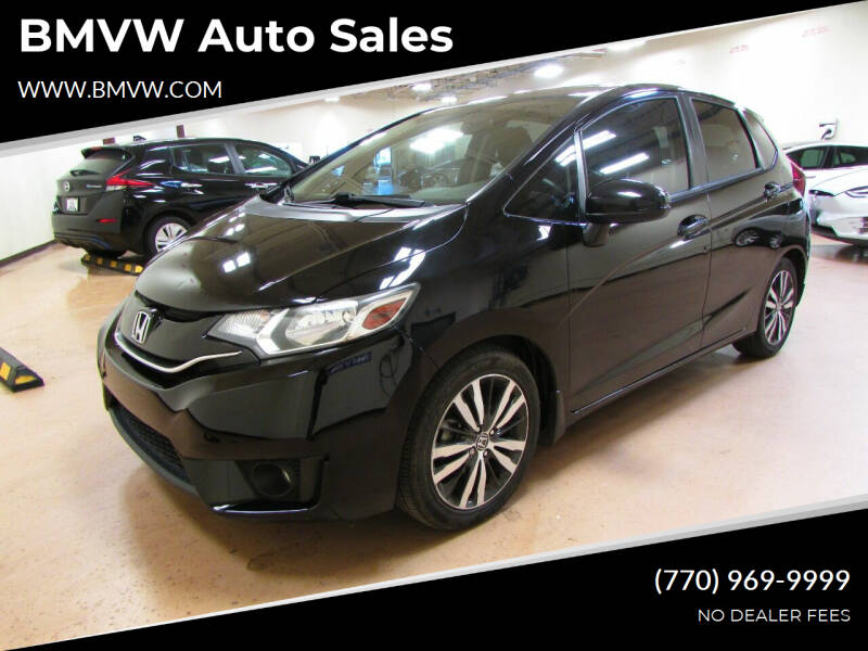 2016 Honda Fit for sale at BMVW Auto Sales in Union City GA