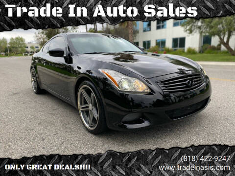 2008 Infiniti G37 for sale at Trade In Auto Sales in Van Nuys CA