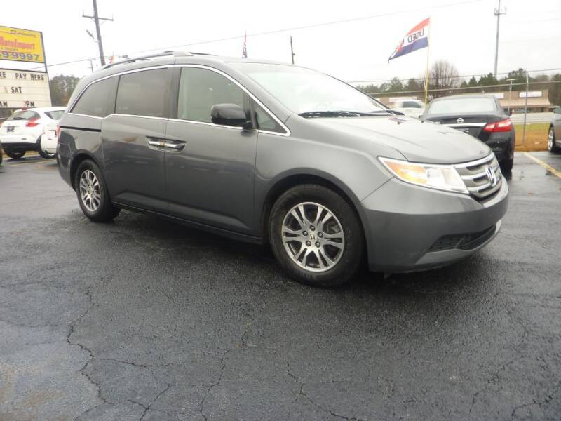 2012 Honda Odyssey for sale at Roswell Auto Imports in Austell GA