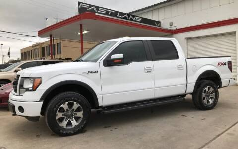 2014 Ford F-150 for sale at FAST LANE AUTO SALES in San Antonio TX