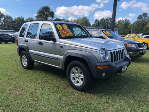 2003 Jeep Liberty for sale at Smith Motor Company INC in Mc Cormick SC