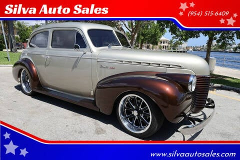 1940 Chevrolet Master Deluxe for sale at Silva Auto Sales in Pompano Beach FL