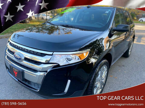 2014 Ford Edge for sale at Top Gear Cars LLC in Lynn MA