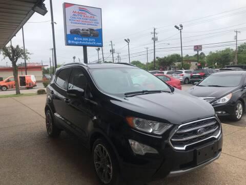 2018 Ford EcoSport for sale at Magic Auto Sales in Dallas TX