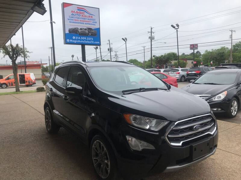 2018 Ford EcoSport for sale at Magic Auto Sales in Dallas TX