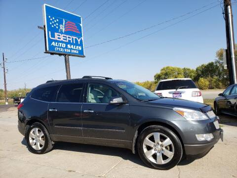 2011 Chevrolet Traverse for sale at Liberty Auto Sales in Merrill IA