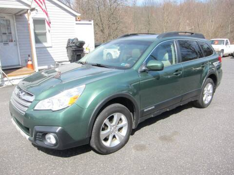 2013 Subaru Outback for sale at K & R Auto Sales,Inc in Quakertown PA