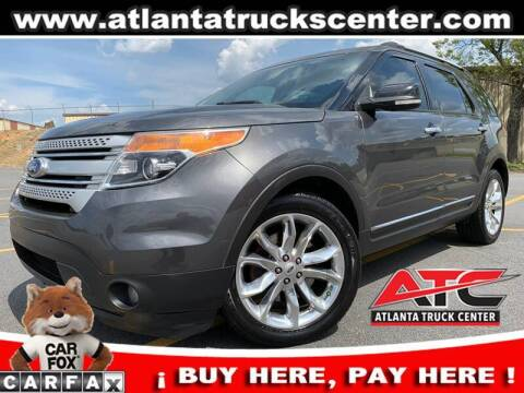 2015 Ford Explorer for sale at ATLANTA TRUCK CENTER LLC in Brookhaven GA