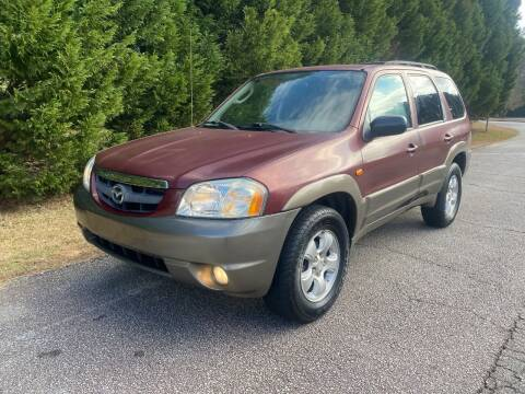2004 Mazda Tribute for sale at Front Porch Motors Inc. in Conyers GA