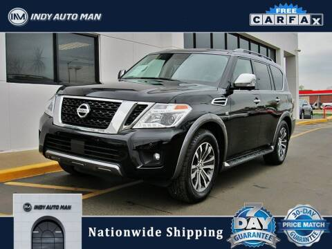 2019 Nissan Armada for sale at INDY AUTO MAN in Indianapolis IN