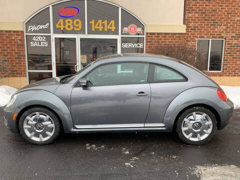 2012 Volkswagen Beetle for sale at Professional Auto Sales & Service in Fort Wayne IN