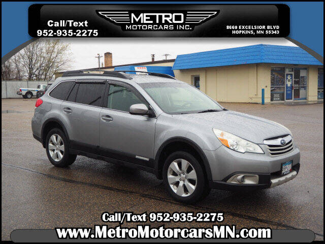 2011 Subaru Outback for sale at Metro Motorcars Inc in Hopkins MN