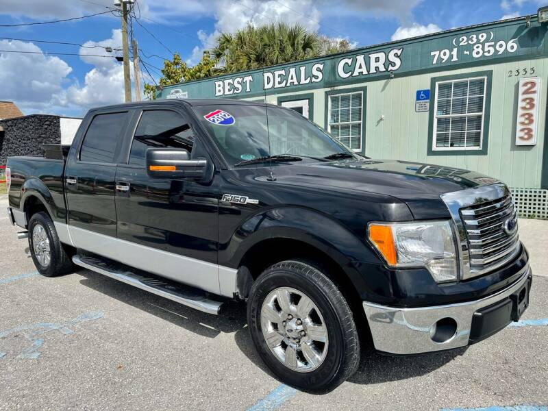 2012 Ford F-150 for sale at Best Deals Cars Inc in Fort Myers FL