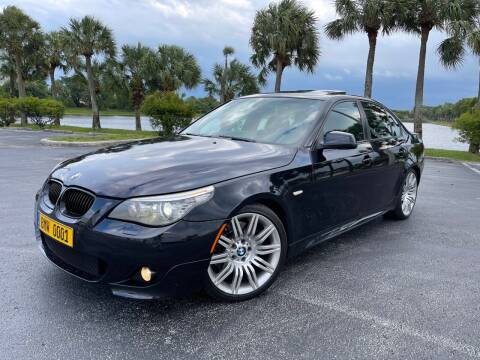 2010 BMW 5 Series for sale at Vogue Auto Sales in Pompano Beach FL