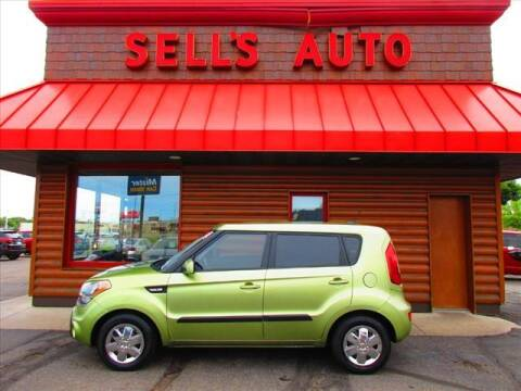 2012 Kia Soul for sale at Sells Auto INC in Saint Cloud MN