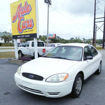 2005 Ford Taurus for sale at Auto Cars in Murrells Inlet SC