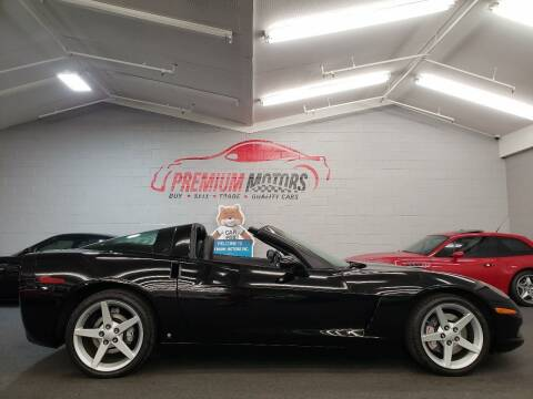 2007 Chevrolet Corvette for sale at Premium Motors in Villa Park IL