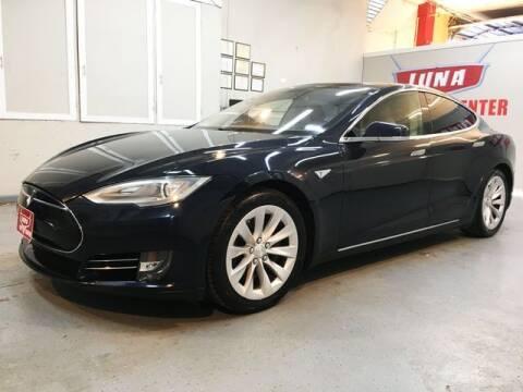 2013 Tesla Model S for sale at LUNA CAR CENTER in San Antonio TX