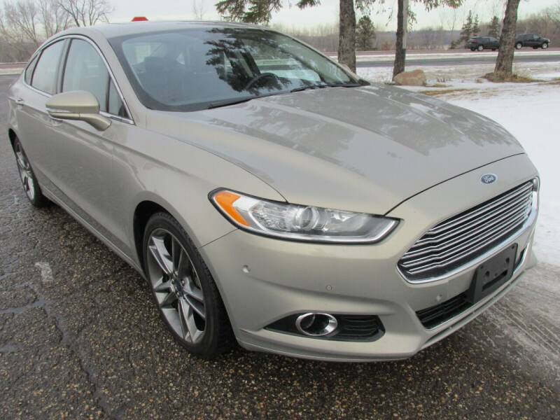 2015 Ford Fusion for sale at Buy-Rite Auto Sales in Shakopee MN