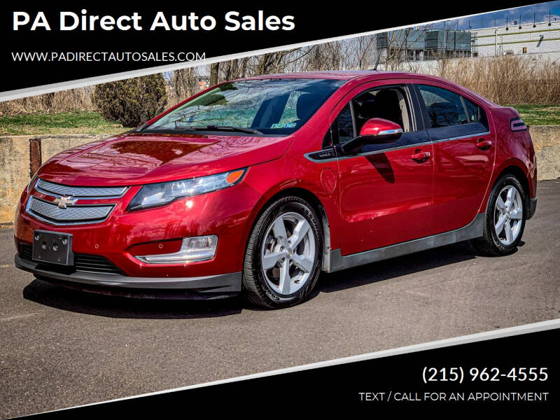 2014 Chevrolet Volt for sale at PA Direct Auto Sales in Levittown PA