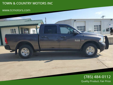 2014 RAM Ram Pickup 1500 for sale at TOWN & COUNTRY MOTORS INC in Meriden KS