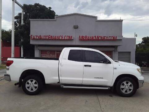 2007 Toyota Tundra for sale at Eazy Auto Finance in Dallas TX