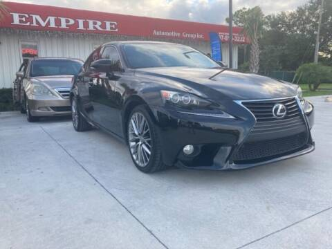2014 Lexus IS 250 for sale at Empire Automotive Group Inc. in Orlando FL