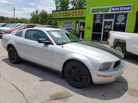 2006 Ford Mustang for sale at Empire Auto Group in Indianapolis IN