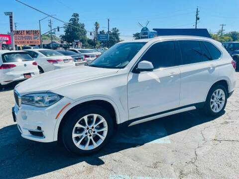 2014 BMW X5 for sale at Sunset Motors in Manteca CA