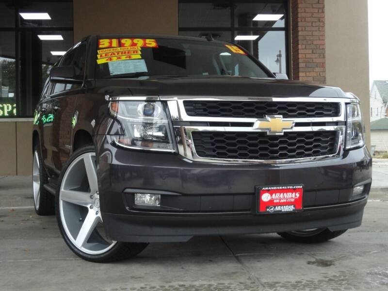 2015 Chevrolet Tahoe for sale at Arandas Auto Sales in Milwaukee WI