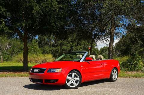 2003 Audi A4 for sale at P J'S AUTO WORLD-CLASSICS in Clearwater FL