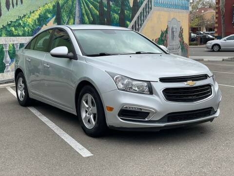 2016 Chevrolet Cruze Limited for sale at Steers Motors in San Jose CA