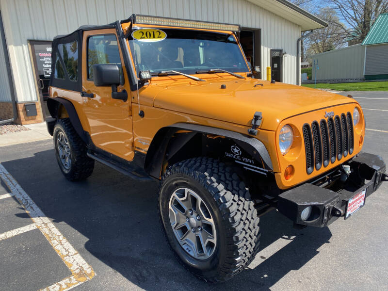 2012 Jeep Wrangler for sale at Kubly's Automotive in Brodhead WI
