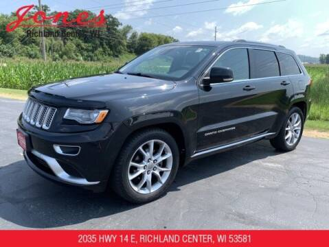 2015 Jeep Grand Cherokee for sale at Jones Chevrolet Buick Cadillac in Richland Center WI