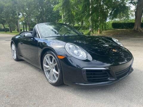 2019 Porsche 911 for sale at DELRAY AUTO MALL in Delray Beach FL