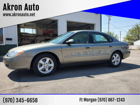 2003 Ford Taurus for sale at Akron Auto in Akron CO