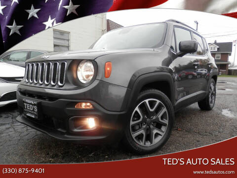 2018 Jeep Renegade for sale at Ted's Auto Sales in Louisville OH