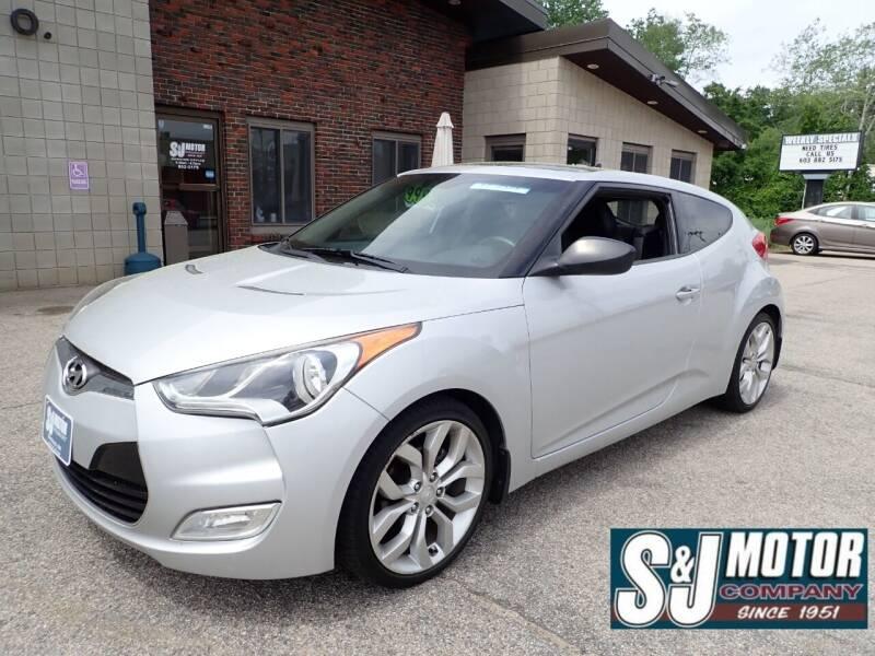 2012 Hyundai Veloster for sale at S & J Motor Co Inc. in Merrimack NH