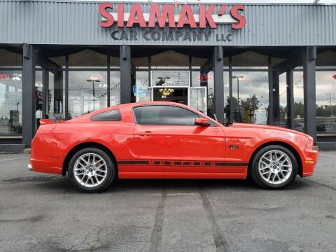 2014 Ford Mustang for sale at Siamak's Car Company llc in Salem OR