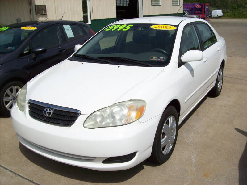 2005 Toyota Corolla for sale at Summit Auto Inc in Waterford PA