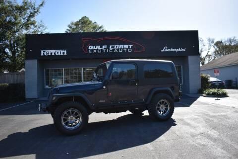 2006 Jeep Wrangler for sale at Gulf Coast Exotic Auto in Biloxi MS